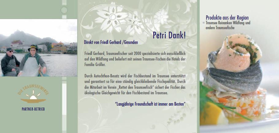 "Partner Betrieb Seehotel ""Das Traunsee"""